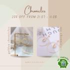 20% OFF Chronicles Earrings