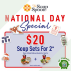 $20 Soup Sets for 2