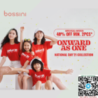 40% OFF Bossini NDP collection