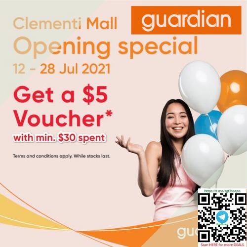 $5 Guardian Voucher