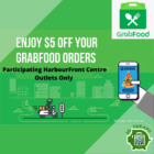 $5 OFF GRABFOOD