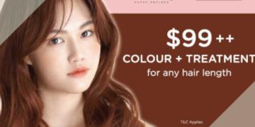 65% OFF hair colour & treatment