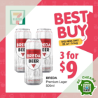 7 eleven 9 for 3 breda beers july promo