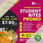 90 minutes 7.90 korean student meal promo