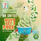 BUY 1 FREE 1 Matcha Mr Softee