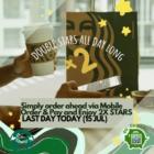Double Stars Thursday @ Starbucks
