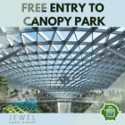 FREE ENTRY TO CANOPY PARK