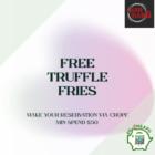 FREE truffle fries