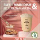 Free Pearl Milk Tea