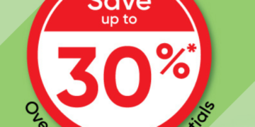 Up To 30% OFF Health essentials
