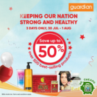 Up to 50% OFF Guardian