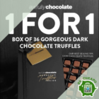 awfully chocolate 1 for 1 box of 36 truffles july promo