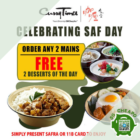 curry times 2 mains 2 desserts free promo