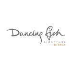 dancing fish signature logo