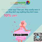 floweradvisor 10 off cancer bday promo