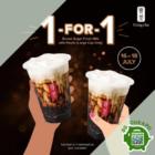 gong cha 1 for 1 brown sugar fresh milk promo