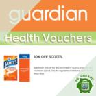 guardian 10% off scotts july promo
