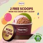 haagen dazs 3 for 1 scoops july promo