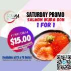 ikura japanese salmon ikura 1 for 1 promo
