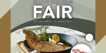 isetan up to 65 off cookware july promo