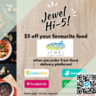 jewel changi $5 off delivery promo
