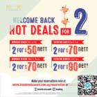 kiseki 2 for 50 weekday lunch promo