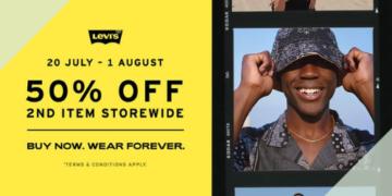 levis 50 off 2nd item july promo