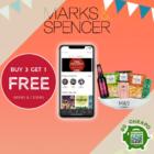 marks and spencer buy 3 get 1 free beer cider promo