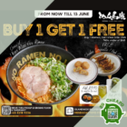 menbaka buy 1 ramen get 1 side dish free july promo