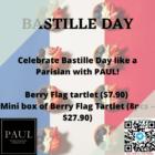 paul bastille day 8 pcs mini tartlet box promo