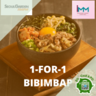 seoul garden hotpot 1 for 1 bibimbap promo