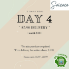 soicoco $4 off delivery july promo