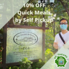 the coastal settlement 10 off meals self pickup july promo