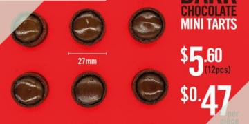 the forage cafe 12pcs mini choco tartlets promo