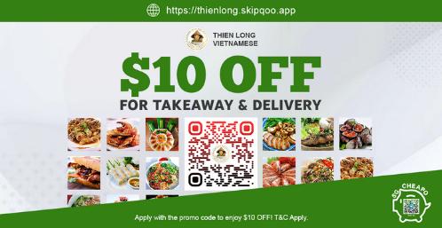 thien long 10 off vietnamese food promo slider