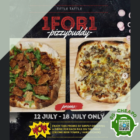 tittle tattle 1 for 1 pizza promo