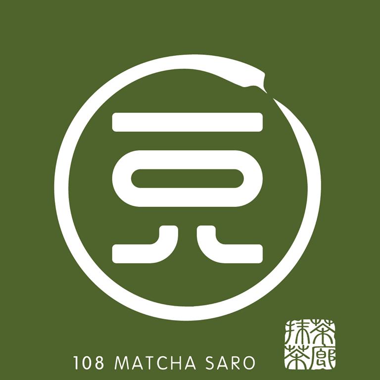 108 matcha saro logo