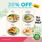 20% OFF Kopitiam Breakfast Deals