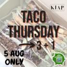 3 + 1 Taco Thursday