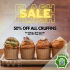 Bread Yard 50% OFF ALL CRUFFINS
