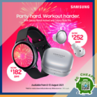 Challenger - UP TO $216 OFF Galaxy Watch Active 2 & Galaxy Buds Pro