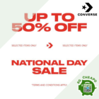 Converse Up to 50% OFF Converse