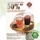 Joy Luck Teahouse - 50% OFF Coffee Series & Signature HK Style Milk Tea