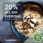 Kanshoku Ramen - 20% OFF Kanshoku Ramen - sgCheapo