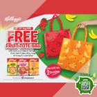 Kellogg's - FREE FRUIT TOTE BAG - sgCheapo