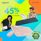 Logitech - UP TO 45% OFF LOGITECH - sgCheapo-one