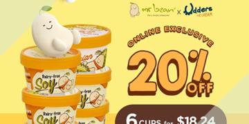Mr Bean - 20% OFF Udders Ice Cream Bundle 6 Cups - sgCheapo