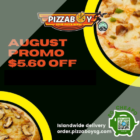 Pizzaboy - $5.60 OFF AUGUST PROMO - sgCheapo