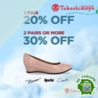 Takashimaya Up to 30% OFF Ladies' Shoes