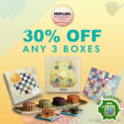 UP TO 30% OFF MOONCAKES